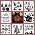 Merry Christmas Tole Painting Letter Stencil Decorative Scrapbook Paper Template