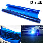 Tint Vinyl Film Overlay Wrap Sheet Sticker For Headlight Fog Lamp Tail Light