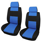 2 Front Car Seat Cover 2 Head Rests Cover Universal Auto Front Cushion Protector