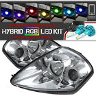 Rgb Low Beam Bulbs Mitsubishi Eclipse 00-05 Spyder Halo Projector Headlights