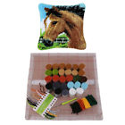 17x17 Animal Latch Hook Kits Diy Embroidery Pillow Case Kits Christmas Gifts