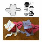 Cat Dies Animals Metal Cutting Dies And Clear Stamps For Scrapbooking For Diy Ca