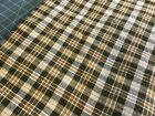 1 Yard Fabric Lots Primitive Gingham Fabric