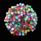 50-500g Square Mix Color Crystal Glass Mosaic Tiles Mosaic Making Diy Craft P