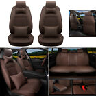 Car Seat Covers Fit For Dodge Ram 1500 2500 3500 2013-2019 Pu Leather Cushions