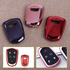 Remote Smart Key Tpu Cover Fob Case Shell Fit For Cadillac Elr Sts Xt5 Cts Ats