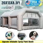 Inflatable Spray Paint Booth Mobile Portable Custom Paint Job Party Tent 10 Size