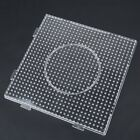 Large Pegboard For Perler Bead Hama Fuse Beads Clear Square Design Board Applied
