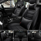 Luxury Durable Leather Car Seat Covers Protector 5-seats Suv Frontrear Cushion