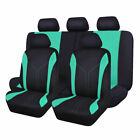 Full Front Rear Universal Car Seat Covers Built-in Sponge Breathable Cushioned
