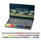Watercolor Colored Pencils Set 36 48 72 Box Soluble For Gifts Writing Drawing