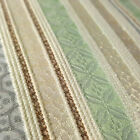 Striped Brocade Jaquard Metallic Tapestry Stripe 58 Pastel By The Yard