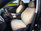 2 Front Car Seat Covers Cloth Fabric For Toyota 3160