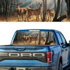 1x Rear Window Graphic Decal Deer Family Tint Pick-up