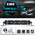 714203250 Inch Single Row Slim Led Work Light Bar For 4wd Car Off Road Truck