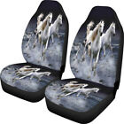 Cool Animal Design Car Seat Covers 2 Pcs Front Seat Protector Soft Universal Fit