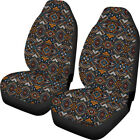 Bohemia Style Delux Baja Blanket Car Seat Covers Removeable Elastic Family Car 2