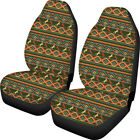 Crazy Horse Car Seat Covers Universal Fit Front Seat Elastic Protector Case 2pcs