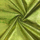 Metallic Two-tone Foil Brocade Fabric 56 Wide 100 Polyester Sold By The Yard