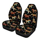 Funky Horse Car Seat Covers Front Seats Only 2pc Auto Interior Driver Seat Cover