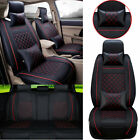 5-seat Car Seat Covers Deluxe Pu Leather Cushion For Honda Hrvcityvezelcrider