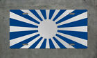 Japanese Rising Sun Jdm License Plate Auto Tag Flag Illest Stance Lowered Drift