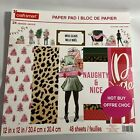 Craftsmart Paper Pad 12x12 48 Sheets Christmas Scrap Booking