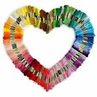 300 Lot Multi Colors Cross Stitch Cotton Embroidery Thread Floss Sewing Skeins