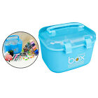 Plastic Storage Box Sewing Thread Container Case Organizer Home Office Car