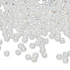 Lot Of 340 Matsuno Dyna-mites 60 6 Glass Spacer Seed Beads Transparent Colors