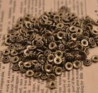 100pcs Tibetan Silver Spacer Beads Flowers Beads Caps Findings 6mm B3081