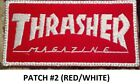 Love It Or Its Free Logo Thrasher Embroidered Patch Iron Sew Free Ship.