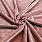 41 Colors Princess Polyester Stretch Velvet Fabric By The Yard - 10001
