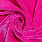 44 Colors Princess Polyester Stretch Velvet Fabric By The Yard - 10001