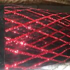 8 Colors Jordyn Diamond Sequins On Mesh Lace Fabric By The Yard - 10008