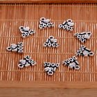 Lot Wholesale 10pcs Vintage Silver Tone Pendants Diy Craft Jewelry Making Charms