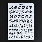 Letter Number Layering Stencils Painting Scrapbooking Cards Craft Tool Template