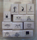 Stampin Up Complete Small Sets Bitty Backgrounds Etc Cards Tags Scrapbook Cute