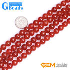 Natural Red Agate Gemstone Round Beads For Jewelry Making Free Shipping 15
