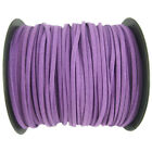 5100yards Korea Faux Suede Cord Flat Leather Cord Diy Rope Jewelry Making 3mm