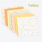 New Assorted Cut Charm Fat Quarters Cotton Fabric Quilt Sewing Bundle Square Diy