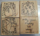 Stampin Up Complete Christmas Winter Sets Choose 1 Or More Santa Snowman Tags