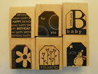 Stampin Up Sets Gift Tags Cards - Choose 1 Or More Free Shipping - Scrapbook