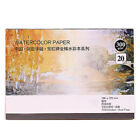 300g Professional Watercolor Paper Pad 20 Sheets Hand Painted Drawing Book 185mm