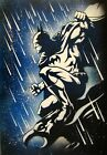 Batman 1 Airbrush Stencil Multi Layer Template Spray Vision Best Characters