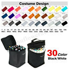 30 Color Twin Pen Marker Touch Five Alcohol Graphic Art Tip Broad Fine Point Hot