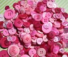 Hand Dyed New Buttons In 9 Beautiful Colorblends Mix Lot Of 50-crafts