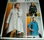 Vogue Pattern 9272 Marcy Tilton Unlined Loose Fit Coat 4-14 Or 16-26 Uc