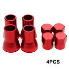 4pcs Tpms Tire Valve Stem Cap With Sleeve Cover Chrome American Car Track 2color