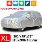 Xl Suv Car Cover Waterproof Outdoor Breathable Rain Dust Resistant Protection Us
